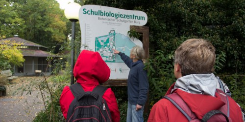 Tour of School Biology Center Burg